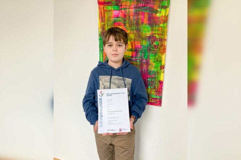 Winfriedschüler erfolgreich bei der Mathematikolympiade des Landes Hessen