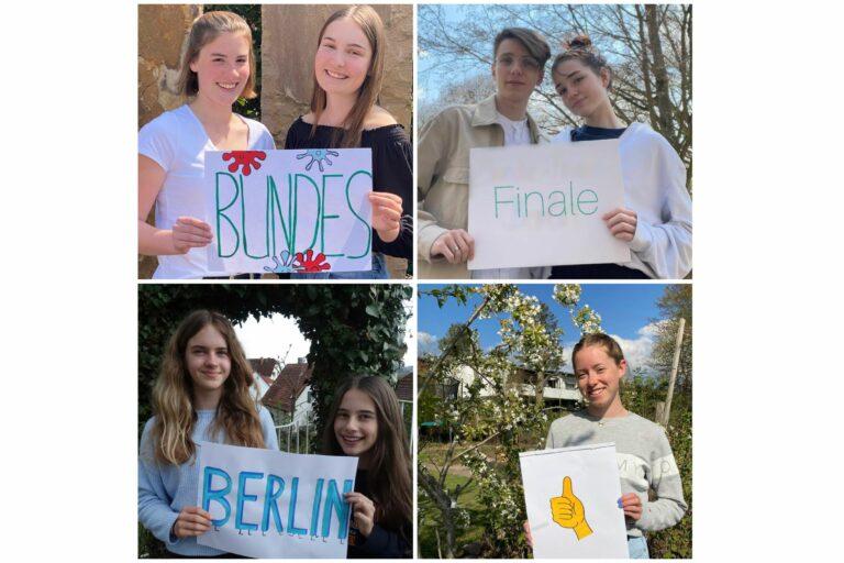 """Wettbewerb """"Jugend präsentiert"""" – 7 Winfriedschülerinnen und -schüler erreichen das Bundesfinale!"""