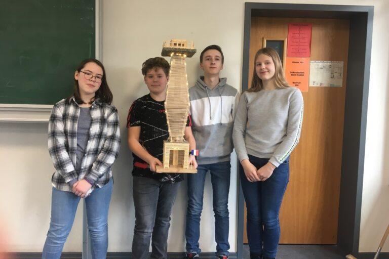 "Schülerwettbewerb ""juniorING"" – Erfolg der Winfriedschule"